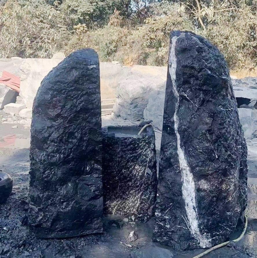 武汉黑山石风景石