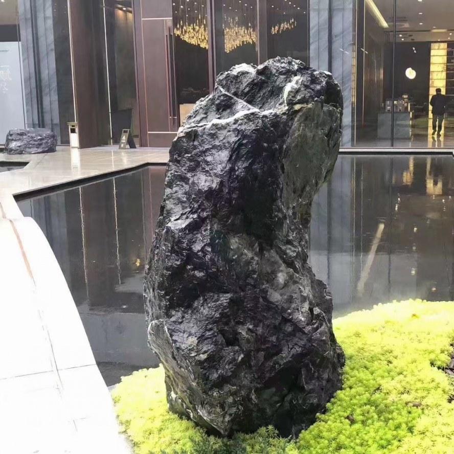 武汉黑山石点缀石