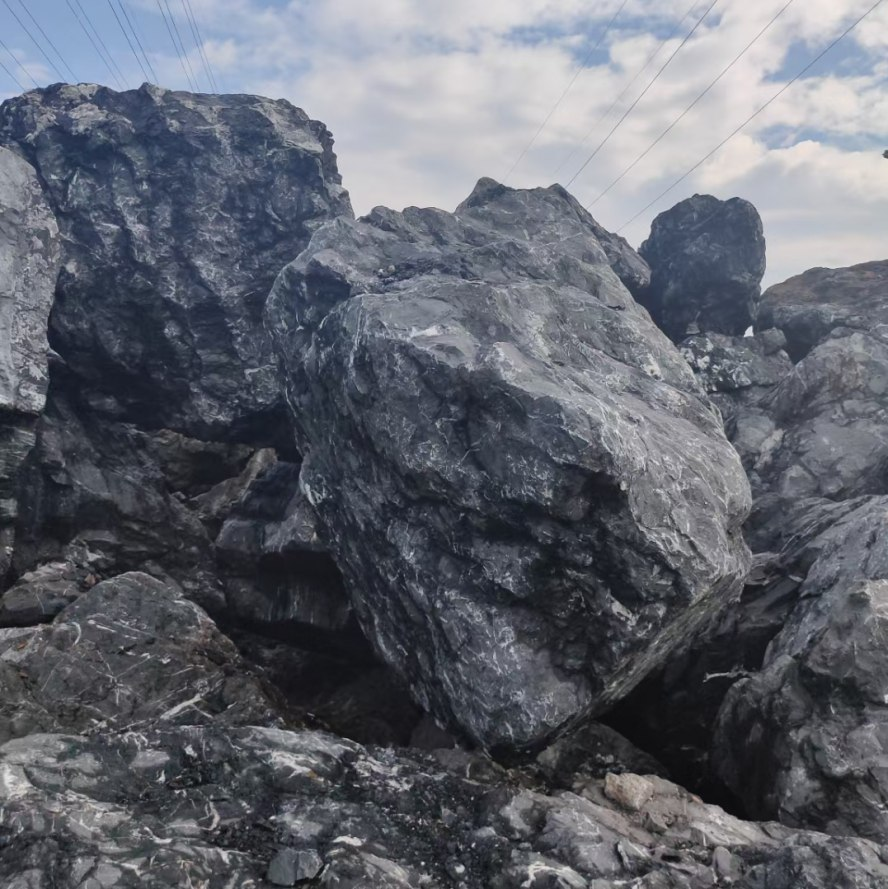 黑山石风景石